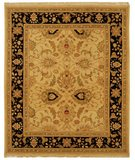 RugStudio presents Safavieh Sumak SUM419A Light Gold / Black Flat-Woven Area Rug