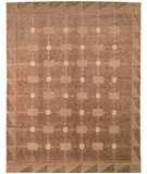 RugStudio presents Safavieh Tibetan TB101B Beige / Brown Hand-Knotted, Better Quality Area Rug