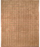 RugStudio presents Rugstudio Sample Sale 47376R Taupe / Black Hand-Knotted, Better Quality Area Rug
