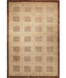 RugStudio presents Safavieh Tibetan TB106B Camel / Brown Hand-Knotted, Better Quality Area Rug