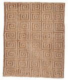 RugStudio presents Safavieh Tibetan TB108E Beige / Brown Hand-Knotted, Better Quality Area Rug
