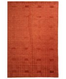 RugStudio presents Safavieh Tibetan TB120C Rust Hand-Knotted, Better Quality Area Rug