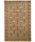 RugStudio presents Safavieh Tibetan TB201A Green / Gold Hand-Knotted, Better Quality Area Rug