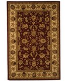 RugStudio presents Safavieh Traditions TD602D Burgundy / Ivory Hand-Tufted, Good Quality Area Rug
