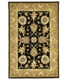 RugStudio presents Safavieh Traditions TD606B Black / Gold Hand-Tufted, Best Quality Area Rug
