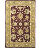 RugStudio presents Safavieh Traditions TD606C Red / Gold Hand-Tufted, Best Quality Area Rug