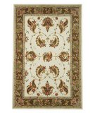 RugStudio presents Safavieh Traditions TD607B Ivory / Sage Hand-Tufted, Good Quality Area Rug