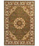 RugStudio presents Safavieh Traditions TD610A Green / Ivory Hand-Tufted, Best Quality Area Rug