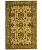 RugStudio presents Safavieh Taj Mahal TJM106A Ivory / Green Hand-Tufted, Best Quality Area Rug
