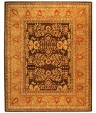 RugStudio presents Safavieh Taj Mahal TJM107A Brown / Gold Hand-Tufted, Best Quality Area Rug