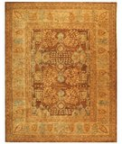 RugStudio presents Safavieh Taj Mahal TJM107B Light Brown / Beige Hand-Tufted, Best Quality Area Rug