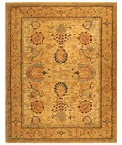 RugStudio presents Safavieh Taj Mahal TJM109B Ivory / Taupe Hand-Tufted, Best Quality Area Rug