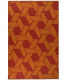 RugStudio presents Safavieh Thom Filicia TMF124A Blood Orange Area Rug