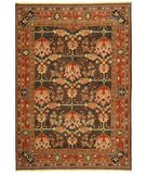 RugStudio presents Safavieh Turkistan TRK117B Green / Red Hand-Knotted, Good Quality Area Rug