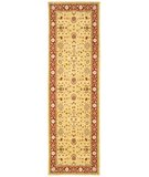 RugStudio presents Safavieh Tuscany TUS303 Gold / Red Machine Woven, Best Quality Area Rug