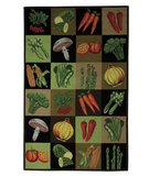 RugStudio presents Safavieh Vintage Posters VP251A Assorted Hand-Hooked Area Rug