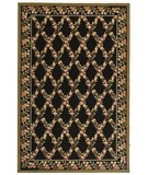RugStudio presents Safavieh Wilton WIL321A Black / Green Hand-Hooked Area Rug