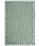 RugStudio presents Safavieh Wilton WIL329B Ivory / Light Blue Hand-Hooked Area Rug
