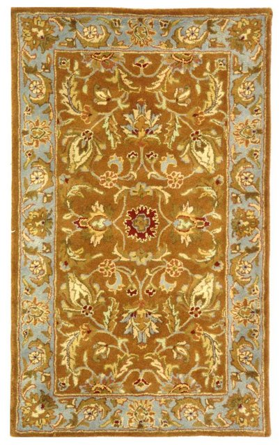 Safavieh Safavieh Heritage Hg812a Brown Blue Area Rug
