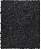 RugStudio presents Safavieh Leather Shag Lsg511a Black Area Rug