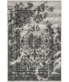 RugStudio presents Safavieh Adirondack Adr101a Silver / Black Machine Woven, Good Quality Area Rug