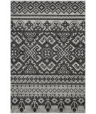 RugStudio presents Safavieh Adirondack Adr107a Silver / Black Machine Woven, Good Quality Area Rug
