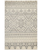 RugStudio presents Safavieh Adirondack Adr107b Ivory / Silver Machine Woven, Good Quality Area Rug