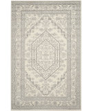RugStudio presents Safavieh Adirondack Adr108b Ivory / Silver Machine Woven, Good Quality Area Rug