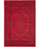RugStudio presents Safavieh Adirondack Adr108f Red / Black Machine Woven, Good Quality Area Rug