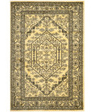 RugStudio presents Safavieh Adirondack Adr108h Gold / Black Machine Woven, Good Quality Area Rug