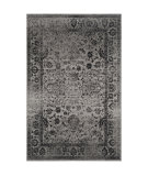 RugStudio presents Safavieh Adirondack Adr109b Grey / Black Machine Woven, Good Quality Area Rug