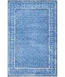 RugStudio presents Safavieh Adirondack Adr110f Light Blue - Dark Blue Machine Woven, Good Quality Area Rug
