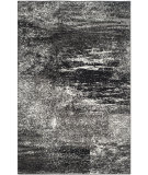 RugStudio presents Safavieh Adirondack Adr112a Silver - Black Machine Woven, Good Quality Area Rug