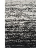 RugStudio presents Safavieh Adirondack Adr113a Silver - Black Machine Woven, Good Quality Area Rug