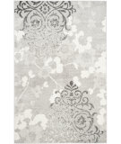 RugStudio presents Safavieh Adirondack Adr114b Silver - Ivory Machine Woven, Good Quality Area Rug