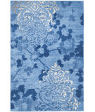 RugStudio presents Safavieh Adirondack Adr114f Light Blue - Dark Blue Machine Woven, Good Quality Area Rug