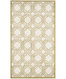 RugStudio presents Safavieh Amherst Amt411a Ivory - Light Green Machine Woven, Good Quality Area Rug