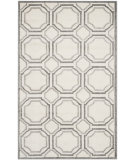 RugStudio presents Safavieh Amherst Amt411e Ivory / Light Grey Machine Woven, Good Quality Area Rug