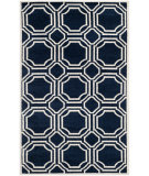 RugStudio presents Safavieh Amherst Amt411p Navy / Ivory Machine Woven, Good Quality Area Rug