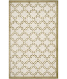 RugStudio presents Safavieh Amherst Amt412a Ivory / Light Green Machine Woven, Good Quality Area Rug
