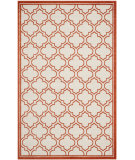 RugStudio presents Safavieh Amherst Amt412f Ivory / Orange Machine Woven, Good Quality Area Rug