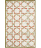 RugStudio presents Safavieh Amherst Amt413a Ivory / Light Green Machine Woven, Good Quality Area Rug