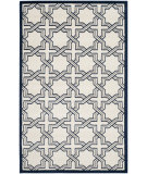 RugStudio presents Safavieh Amherst Amt413m Ivory / Navy Machine Woven, Good Quality Area Rug