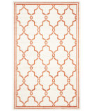 RugStudio presents Safavieh Amherst Amt414f Beige - Orange Machine Woven, Good Quality Area Rug