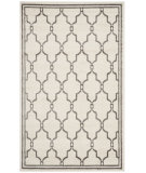 RugStudio presents Safavieh Amherst Amt414k Ivory / Grey Machine Woven, Good Quality Area Rug