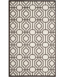 RugStudio presents Safavieh Amherst Amt416j Ivory / Brown Machine Woven, Good Quality Area Rug