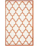 RugStudio presents Safavieh Amherst Amt420f Beige - Orange Machine Woven, Good Quality Area Rug