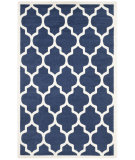 RugStudio presents Safavieh Amherst Amt420p Navy - Beige Machine Woven, Good Quality Area Rug
