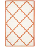 RugStudio presents Safavieh Amherst Amt421f Beige - Orange Machine Woven, Good Quality Area Rug