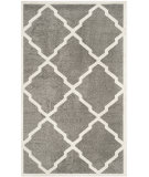 RugStudio presents Safavieh Amherst Amt421r Dark Grey - Beige Machine Woven, Good Quality Area Rug